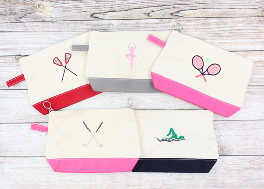Sporty Girl Canvas Bags